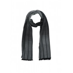 Long viscose scarf with stripes by s.Oliver Red Label