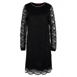 Lace dress with ribbed details by s.Oliver Red Label