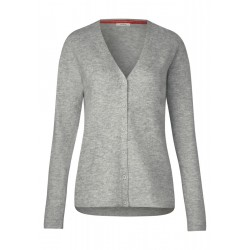 Cardigan with V-neck by Cecil
