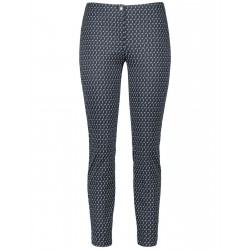 7/8-length trousers with a minimalist pattern by Gerry Weber Edition
