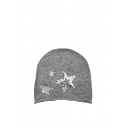 Fine knit beanie with stars by s.Oliver Red Label