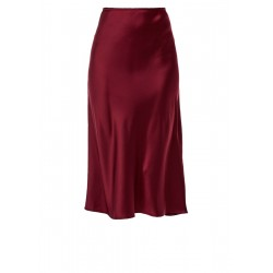 Satin midi skirt by s.Oliver Red Label