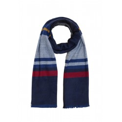 Woven scarf with elegant checks by s.Oliver Red Label