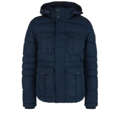 Padded winter jacket with flap pockets by s.Oliver Red Label