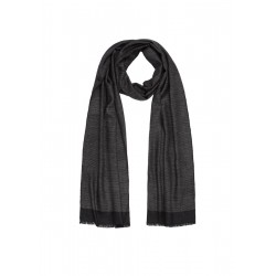 Lightweight scarf with a woven pattern by s.Oliver Black Label