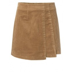 Corduroy mini skirt by Yaya