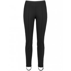 Stirrup trousers with a vertical pintuck by Gerry Weber Casual