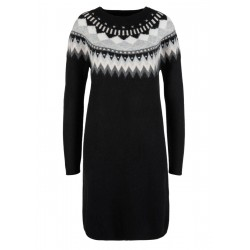 Knit dress with a Fair Isle pattern by s.Oliver Red Label