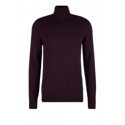 Fine knit jumper with a polo neck by s.Oliver Red Label
