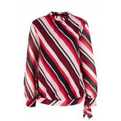 Chiffon blouse with a bow detail by s.Oliver Red Label