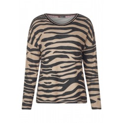 Shirt with animal print by Street One