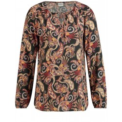 Blouse with a paisley print by Taifun