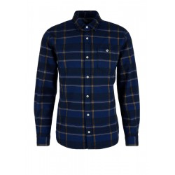 Regular fit: Twill top with lattice checks by s.Oliver Red Label