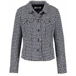 Blazer with textured checks by Gerry Weber Collection