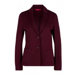Fitted jersey blazer by s.Oliver Red Label