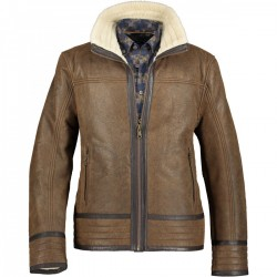 Jacket lamb leather by State of Art