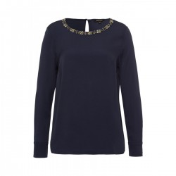 Embellished Blouse by More & More
