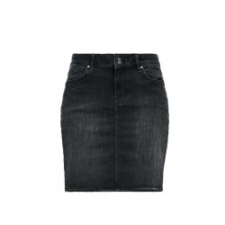 Denim skirt with gemstones by s.Oliver Red Label