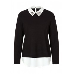 Pullover im Layering-Look by s.Oliver Black Label