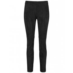 Super skinny faux suede trousers by Taifun