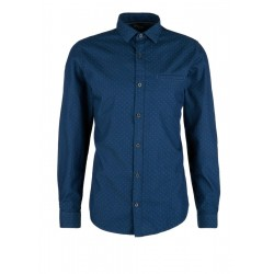 Slim fit: slightly patterned shirt by s.Oliver Red Label