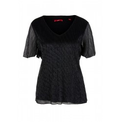 Mesh top with a glitter effect by s.Oliver Red Label