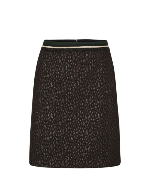 Scuba skirt with a metallic effect by s.Oliver Black Label