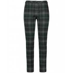 Trousers with large checks by Gerry Weber Edition
