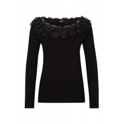 Pull-over à ruches en chiffon by s.Oliver Black Label