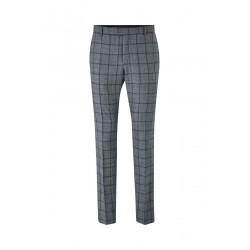 Slim fit : pantalon à carreaux Mercer by Strellson