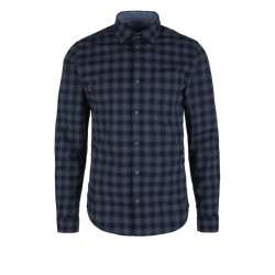 Slim: checked shirt by s.Oliver Red Label