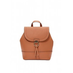 Elegant rucksack with a metal ring by s.Oliver Red Label