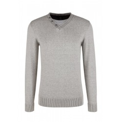 Knitted sweater with layer effect by s.Oliver Red Label