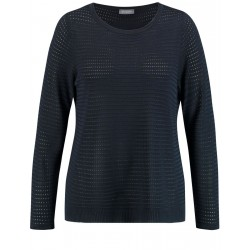 Pull en tricot structuré by Samoon