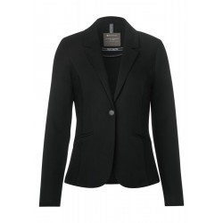 Blazer mit Materialmix by Street One