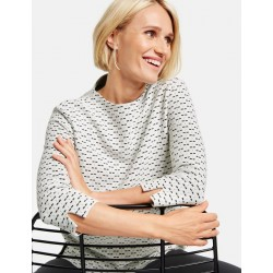 Sweatshirt mit Minimaldessin by Gerry Weber Collection