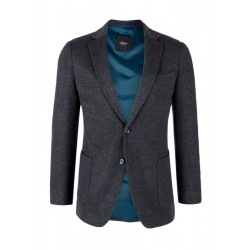 Slim: Twill sports jacket by s.Oliver Black Label