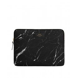 Pochette Ordinateur Black Marble by WOUF