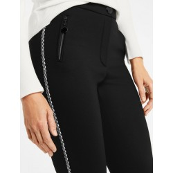 Trousers with decorative side stripes by Gerry Weber Collection