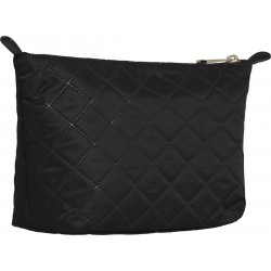 Quilted monogram wash bag by Tommy Hilfiger