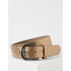 Belt with a star embossing by Taifun