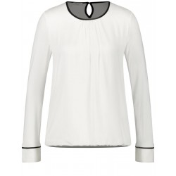 Langarmshirt mit Kontrastpaspel by Gerry Weber Collection