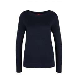 Jumper with a bateau neckline by s.Oliver Red Label