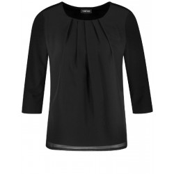 3/4 Arm Shirt mit Chiffon by Taifun