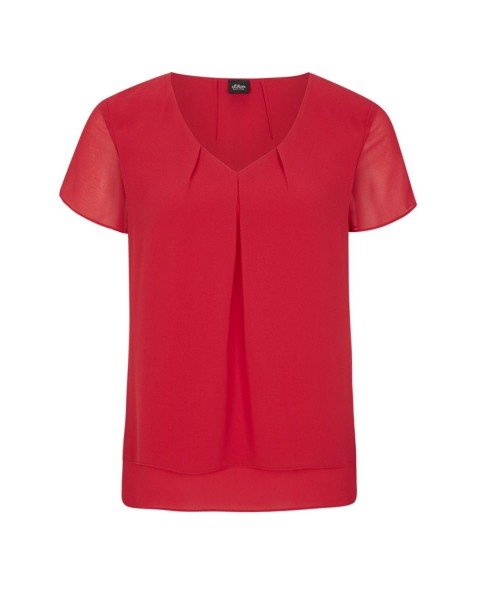 Chiffonbluse by s.Oliver Red Label