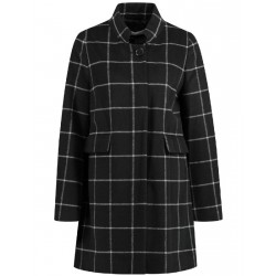 Windowpane check coat by Gerry Weber Collection