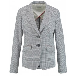 Blazer with mini checks by Gerry Weber Collection