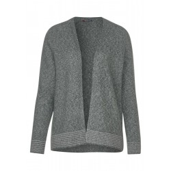 Strickjacke mit Glitzer by Street One