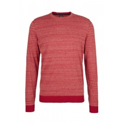 Fine knit sweater with melange effect by s.Oliver Red Label