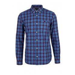 Regular: Plaid Button Down Shirt by s.Oliver Red Label